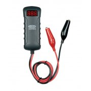 12 and 24v battery tester with crocodile clips