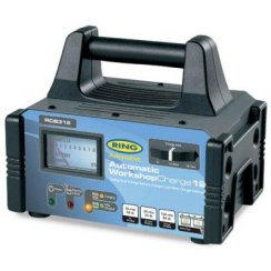 12v and 6v dual voltage battery charger for professional or workshop use