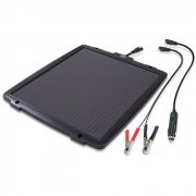 12V solar battery maintainer/charger 6 watt up to 200Ah