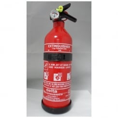 1kg fire extinguisher with gauge (BC)