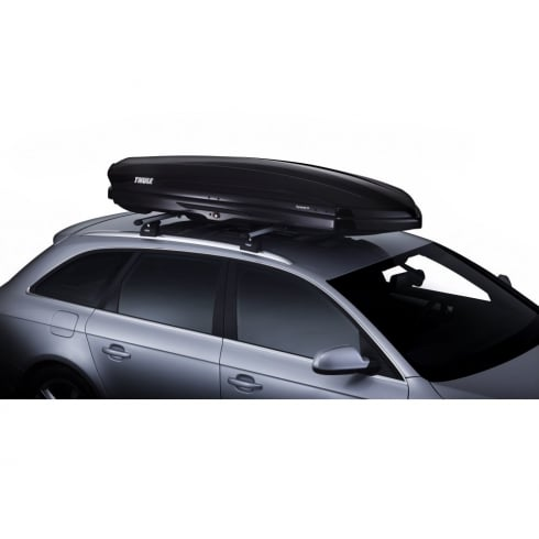 612800 dynamic black glossy roof box - 320 litres