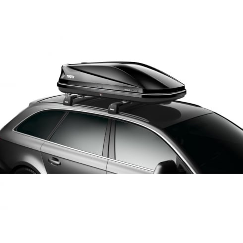 634201 touring 200 black gloss roof box - 400 litres