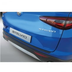 Alfa Stelvio 4x4 rear bumper protector January 2017 onwards