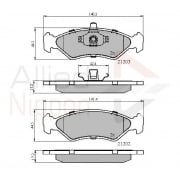 front brake pads for Ford Fiesta 92-1999, Ford Ka 96-2000, Mazda 121 96>