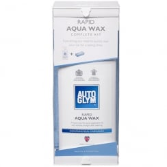 Aqua Wax with Microfibre Cloth (500ml)