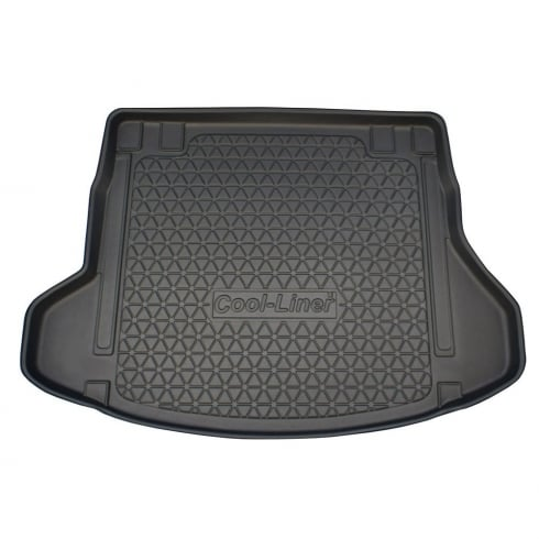 Premium tailor made heavy duty boot liner for Hyundai i30 Estate CW 2012 - 2017 (includes models with rails)