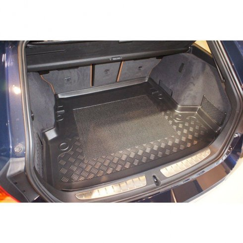 Tailored-fit anti-slip car boot liner for BMW 3 Series (F31) Touring