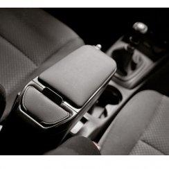 Armster 2 premium black car armrest for Renault Clio MK3 05>