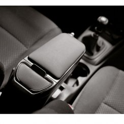 Armster 2 premium black car armrest for Skoda Roomster 06>