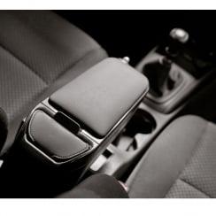 Armster 2 premium black car armrest for Vauxhall Meriva (non flexrail type) 2010>
