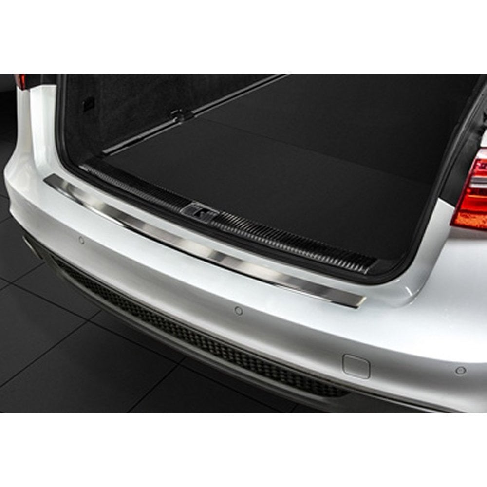 Audi A6 Avants Line Stainless Steel Rear Bumper Protector September 2011 To 2018 Not Rss6