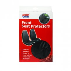 pair of washable front seat cover protectors
