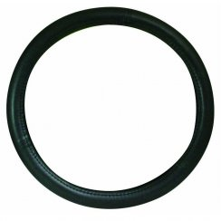 Auto Care universal black steering wheel cover 14.5-15.5 inch