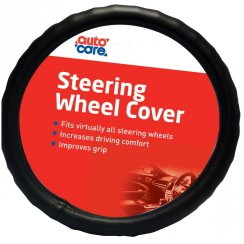 Auto Care universal comfort steering wheel cover 14.5-15.5 inch
