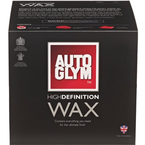 high definition wax kit