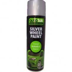 silver wheel paint 500ml