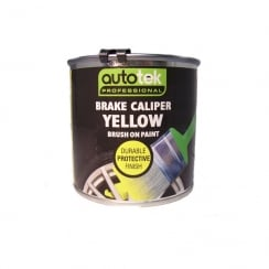 yellow brake caliper brush on paint 250ml