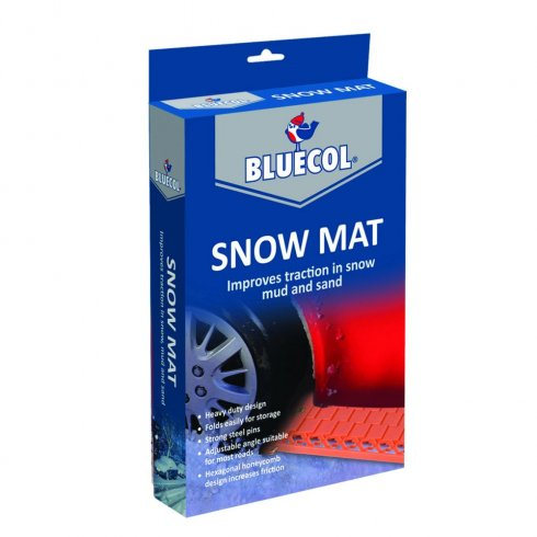 Bluecol Snow grip mats for added traction for your car