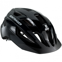 Solstice black cycle helmet