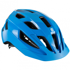 Solstice blue cycle helmet with multi-directional impact protection system (MIPS)