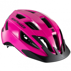Solstice ladies pink cycle helmet