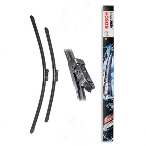 Bosch A539s pair of Aerotwin front wiper blades for Toyota Avensis & Avensis Wagon Nov 2008-2016