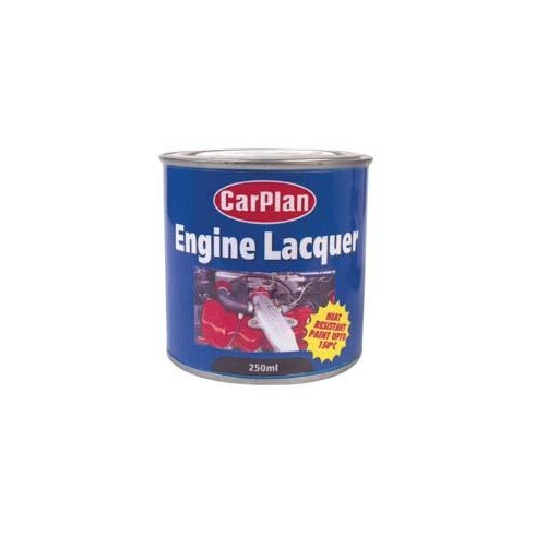 Brush on red engine lacquer 250ml