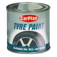 Tyre wall black paint 250ml
