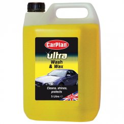 Ultra wash and wax car wash shampoo - 5 litres