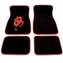red dragon universal car mats (4 piece set)