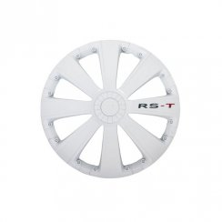 RS-T White wheel trim set 16 inch