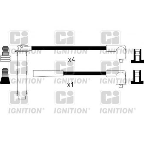 Commercial Ignition lead set XC1053 - Rover