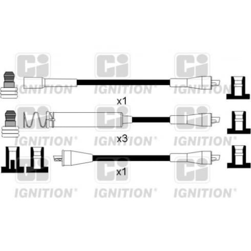 Commercial Ignition lead set XC792 - Vectra