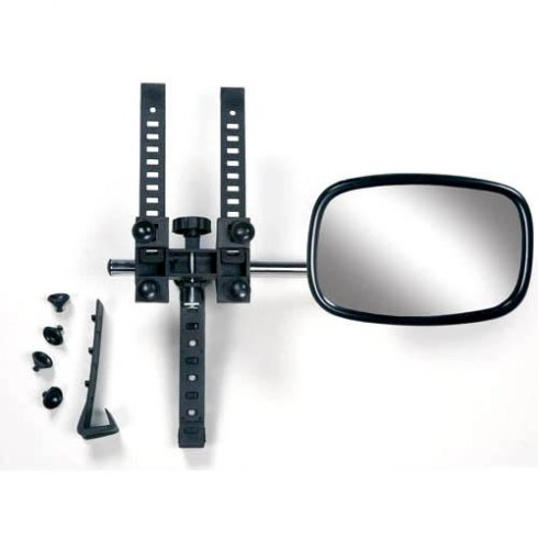 Convex clear view car towing mirror