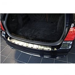 BMW F31 Touring 2012> stainless steel rear bumper protector