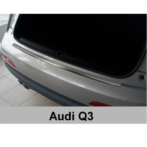 Stainless steel rear bumper protector for Audi Q3 2011>