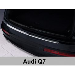 Stainless steel rear bumper protector for Audi Q7 2006>