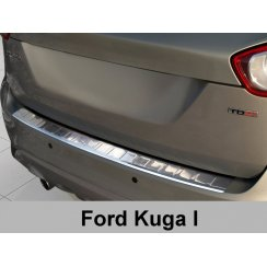 Stainless steel rear bumper protector for Ford Kuga 2008-2013