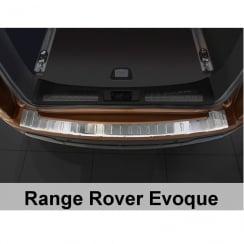Stainless steel rear bumper protector for Range Rover Evoque 5 Door 2011>