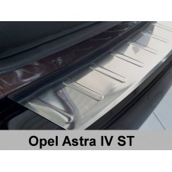 Stainless steel rear bumper protector for Vauxhall Astra J MK6 Sports tourer 2010>