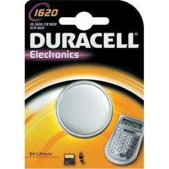 Duracell CR1620 3 volt watch or keyfob battery