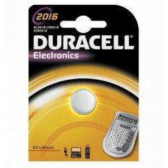 Duracell CR2016 3 volt watch or keyfob battery
