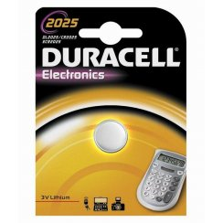 Duracell CR2025 3 volt watch or keyfob battery
