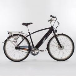 black cross bar electric bike (50cm frame)