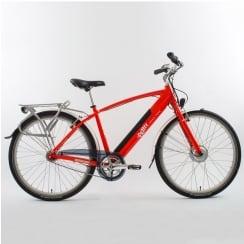 red cross bar electric bike (50cm frame)