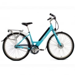 stylish step through electric bike with front 250w motor