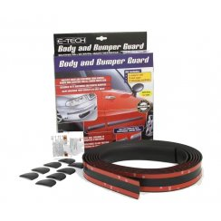Etech 5 metre universal body side moulding kit with end caps