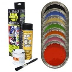 Etech brake caliper paint kit., White