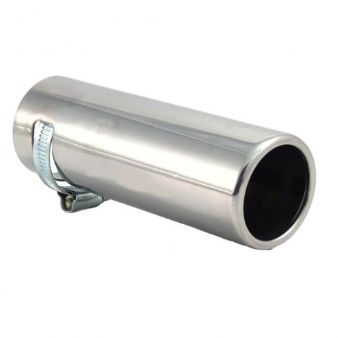 Etech stainless steel exhaust tailpipe trim