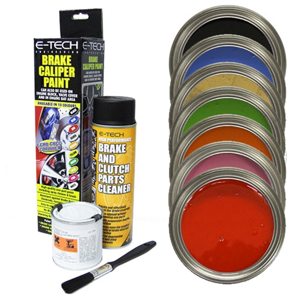 Etech Brake Caliper Paint Kit From Direct Car Parts